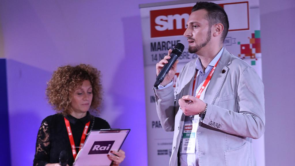 KREA Italy Intervista RAI Smau Marche