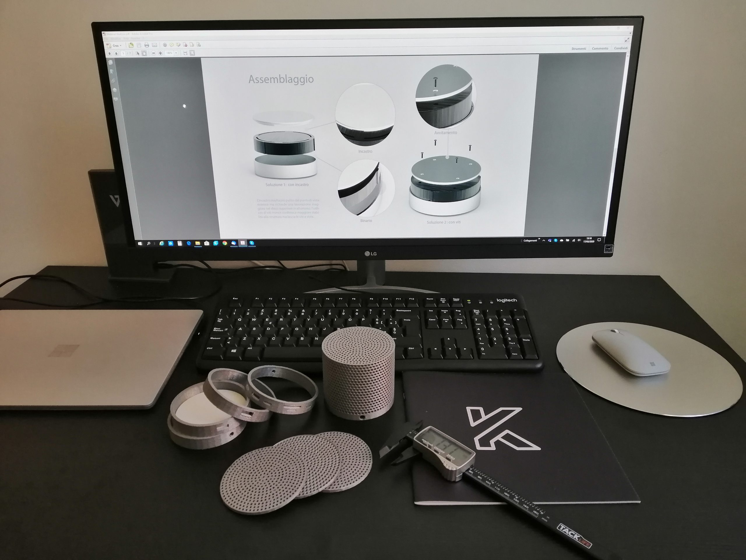 Stampa 3D MockUp Apple - KreaItaly, Stampa 3d - Stampanti 3d Marche - Stampanti 3D prezzi - Aziende stampa 3d