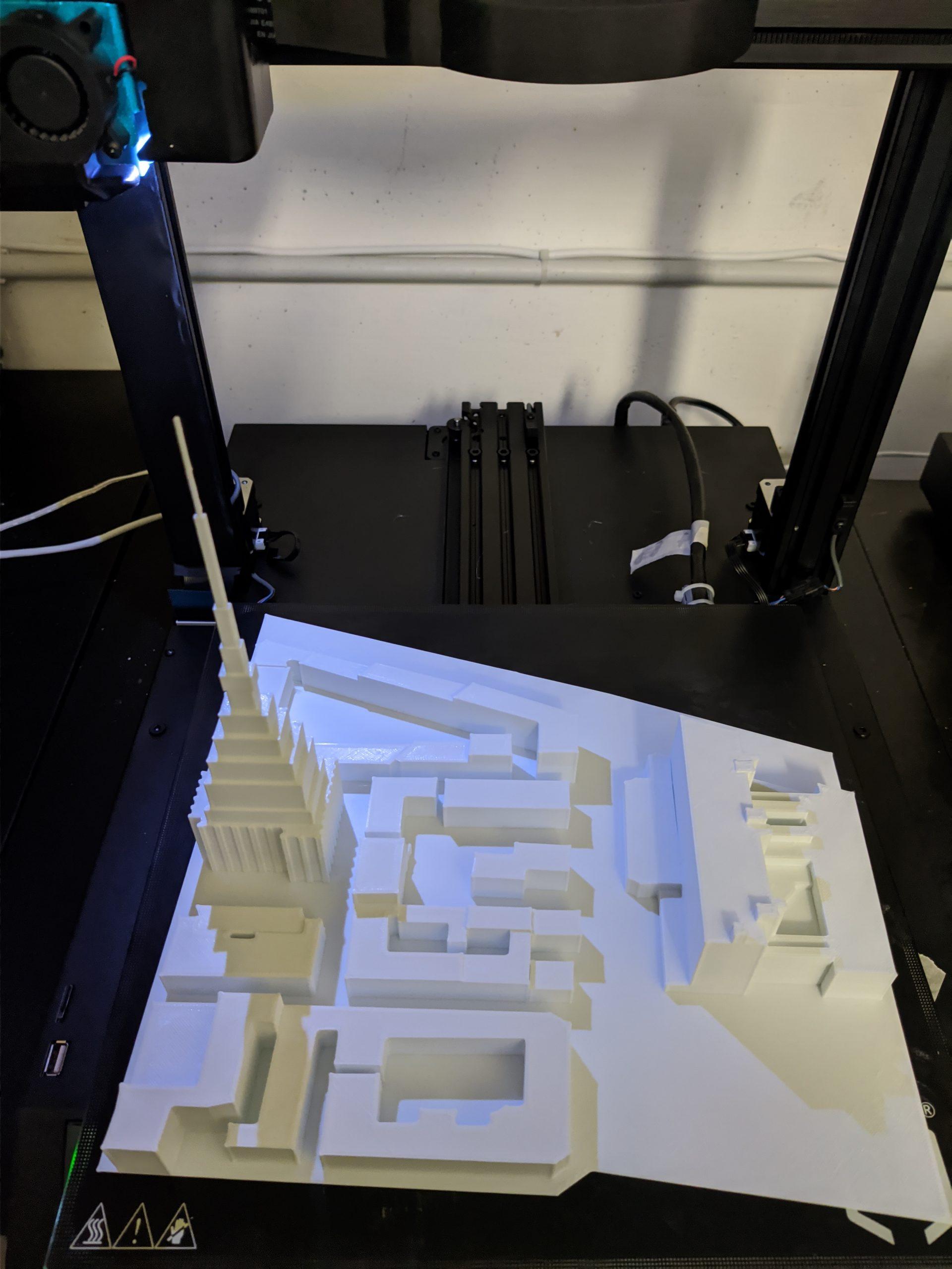 Mole Antonelliana Stampa 3D - KreaItaly, Stampa 3d - Stampanti 3d Marche - Stampanti 3D prezzi - Aziende stampa 3d
