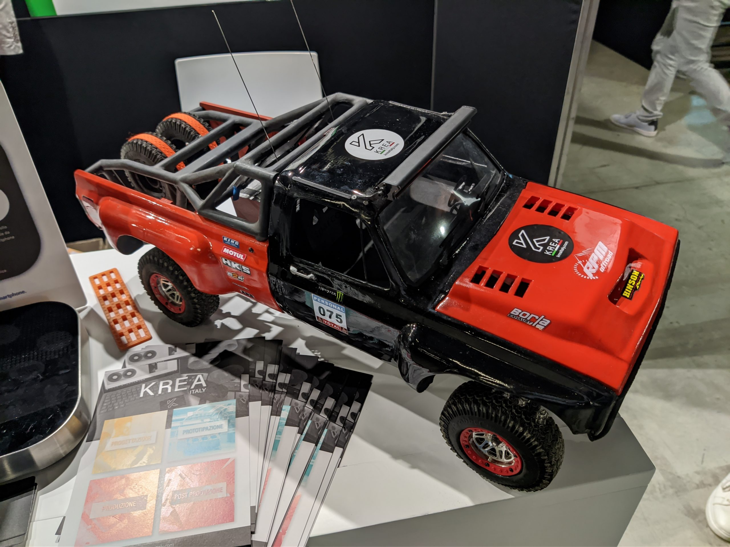 Modellismo Dinamico Off Road Stampa 3D - KreaItaly, Stampa 3d - Stampanti 3d Marche - Stampanti 3D prezzi - Aziende stampa 3d