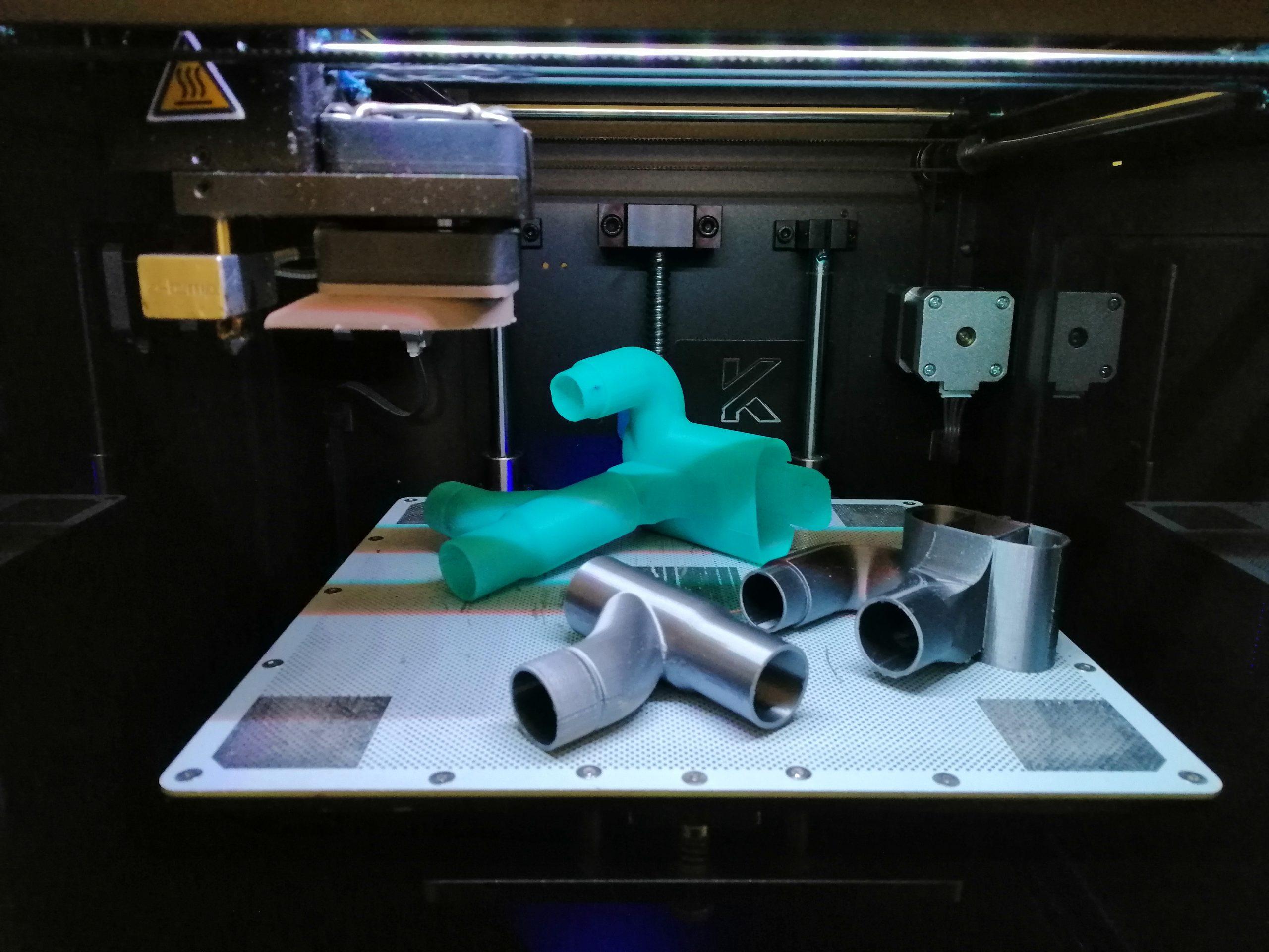 Stampa 3D Donazione Valvole Covid Ospedali - KreaItaly, Stampa 3d - Stampanti 3d Marche - Stampanti 3D prezzi - Aziende stampa 3d