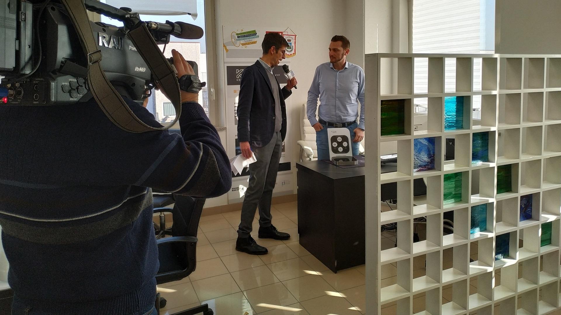 KREA Italy TGR RAI Marche - KreaItaly, Stampa 3d - Stampanti 3d Marche - Stampanti 3D prezzi - Aziende stampa 3d